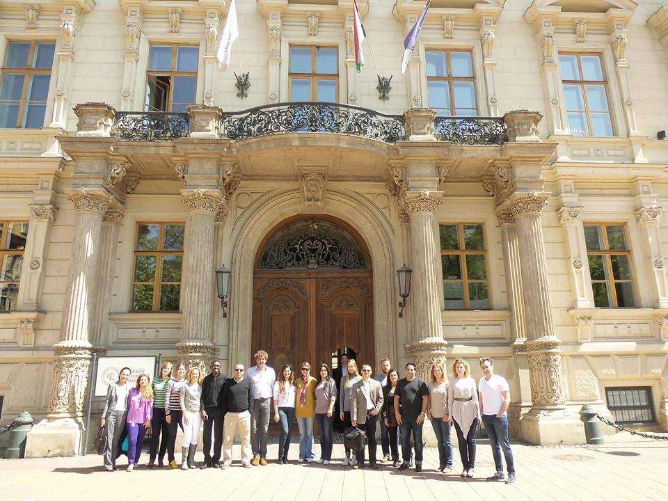 EOA: Master in EU Studies Online - 3rd workshop of the first year in Budapest - Andrassy University
